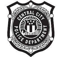 Central City Police Department Photographic Print