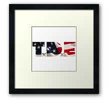 TDE USA The Fourth Framed Print