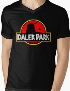 Dalek Park Mens V-Neck T-Shirt
