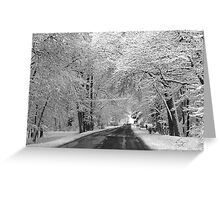 Serene Scene Greeting Card