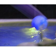 The Blue Ball Photographic Print