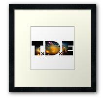 TDE Nebulae Framed Print
