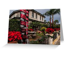 Christmas in a Naples Garden Greeting Card