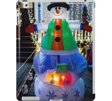 franklin Rd snowman iPad Case/Skin