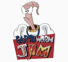 Earthworm Jim One Piece - Short Sleeve
