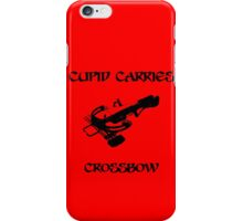 Cupid Carries A Crossbow iPhone Case/Skin