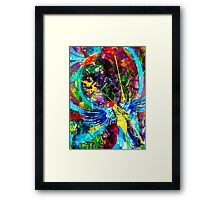 Rainbow Flight Framed Print
