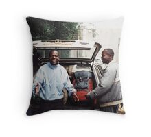 Charles & James Throw Pillow