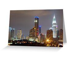 Kuala Lumpur Malaysia Greeting Card