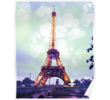 Romantic Paris Poster