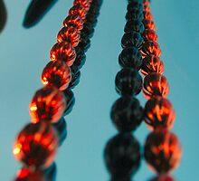 Hanging beads by Matt Ferrell