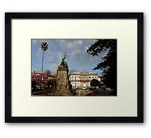 Praza de Espana Framed Print
