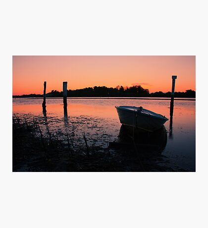Low Tide Sunset Photographic Print