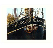 dutch boat Art Print