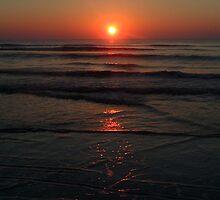 Sunrise on the beach 2 by Matt Ferrell