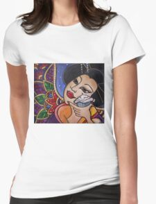 Kabuki Cupcake Womens Fitted T-Shirt
