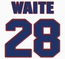 National Hockey player Jimmy Waite jersey 28 by imsport