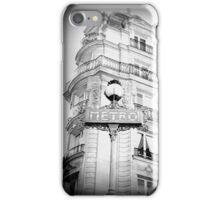 Faded Paris iPhone Case/Skin