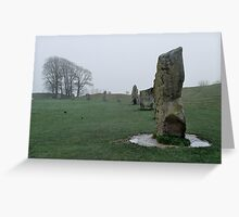 Stone Circle, Avebury Greeting Card