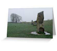 Stone Circle, Avebury Greeting Card