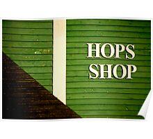 Hops Shop Poster