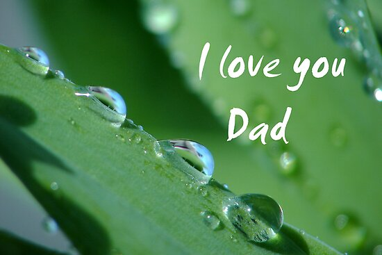 """I love you Dad"" by ~ Fir Mamat ~"