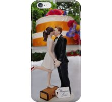 Wedding Cake Topper iPhone Case/Skin