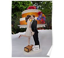 Wedding Cake Topper Poster