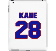 National Hockey player Boyd Kane jersey 28 iPad Case/Skin