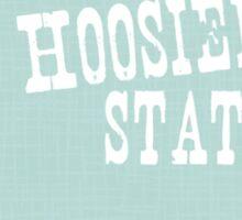 Indiana State Motto Slogan Sticker