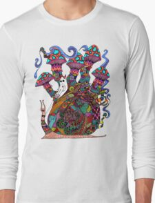 Snail Ride II Long Sleeve T-Shirt