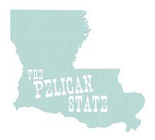 Louisiana State Motto Slogan by surgedesigns