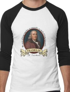 Benjamin Franklin Men's Baseball ¾ T-Shirt