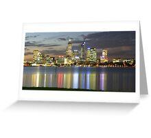 Reflecting Perth Greeting Card