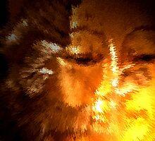 Face of enlightenment. by Shilpa Mukerji