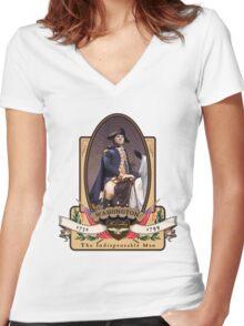 George Washington Women's Fitted V-Neck T-Shirt