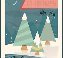 Christmas Poster 2015 by Steven House
