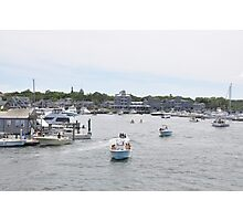 Marina in Martha's Vineyard Photographic Print