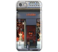 Shopfronts of Paris #25 iPhone Case/Skin
