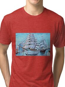 Mural of History Tri-blend T-Shirt