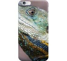Eastern Water Dragon profile iPhone Case/Skin