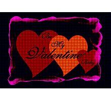 Be My Valentine Baby  Photographic Print