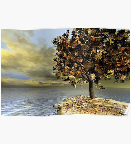 Lonesome Autumn Poster