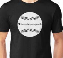 Relationship Status: Baseball (White) Unisex T-Shirt