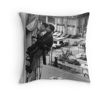 dangerous  situation Throw Pillow
