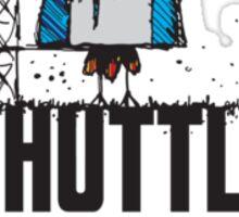 Shuttle Cock Sticker