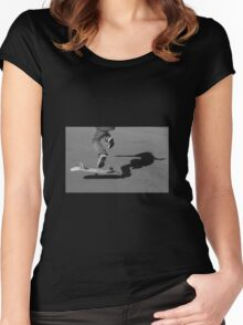 Skate tee Women's Fitted Scoop T-Shirt