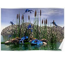 Dartmanns Flying Pond Poster
