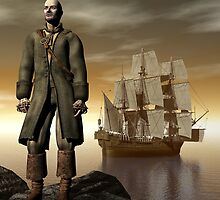 Mutiny By His Own Crew by Lisa  Weber