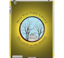 Guardian of the NYC Library * iPad Case/Skin